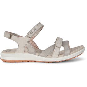 ECCO Cruise II Sandalias Mujer, siver grey/gravel/rose dust